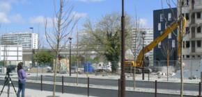 Suivi de démolition de l'ancien Foyer des Jeunes Travailleurs Port-Beaulieu
