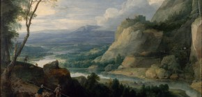 Le paysage dans l'art ancien et la collection XIXe