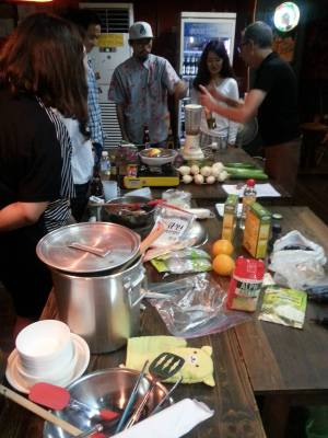 Home Movies And Every Day Life Workshop - Mire EXiS, Séoul 2014 - cooking