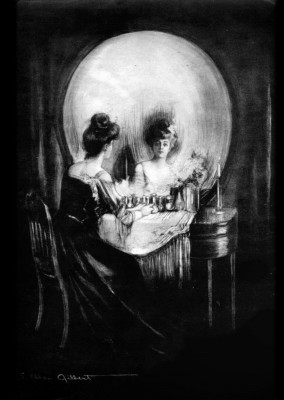 All Is Vanity - Charles Allan Gilbert