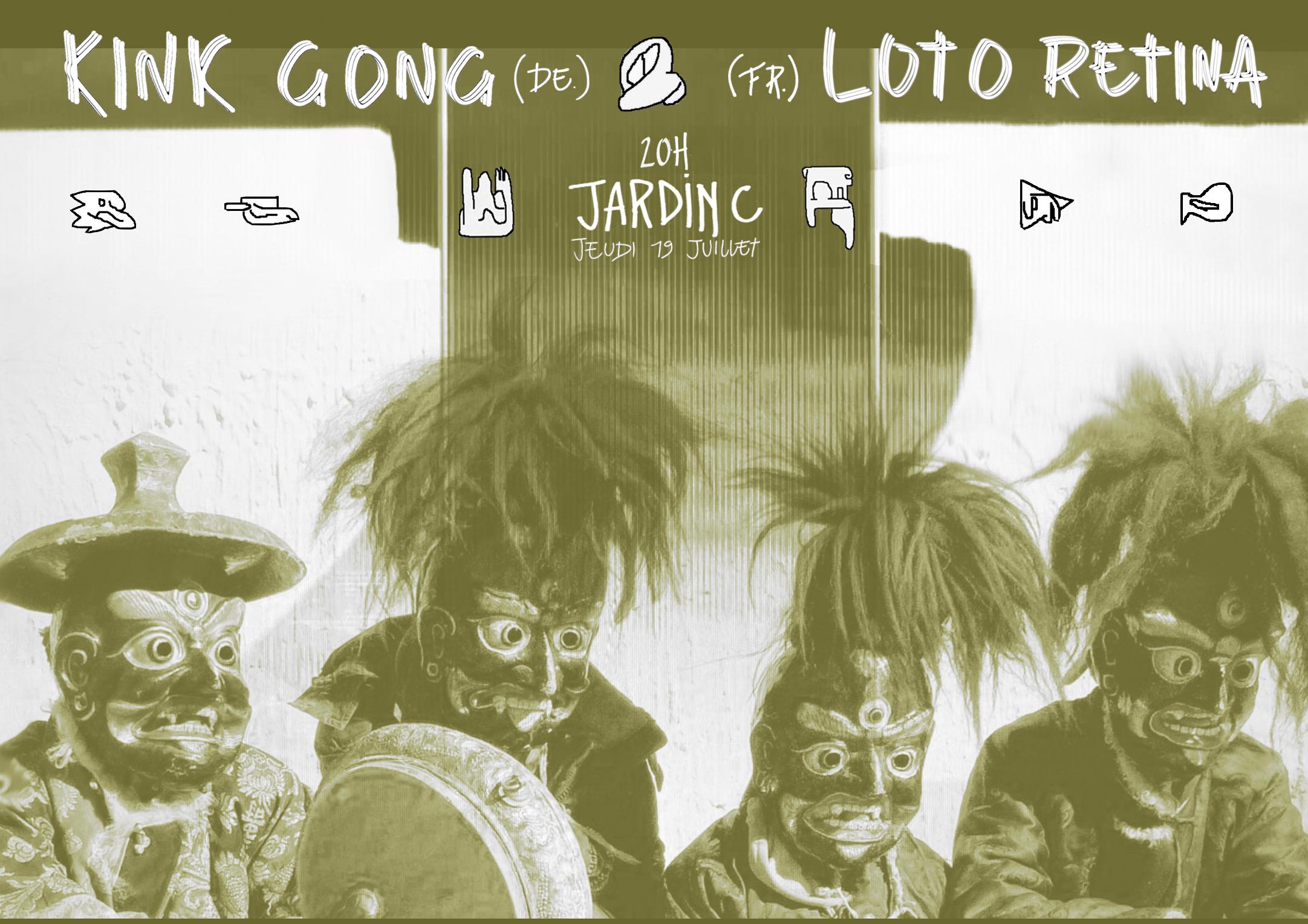 Kink Gong • Loto Retina